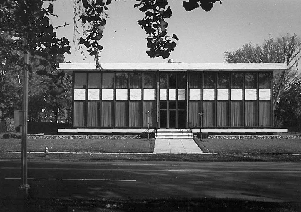 Union building 50 years ago